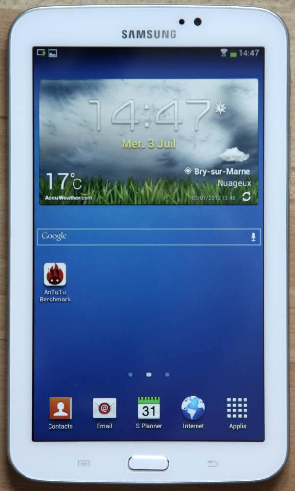 test galaxy tab 3 7 0 une mini tablette qui fait le job. Black Bedroom Furniture Sets. Home Design Ideas