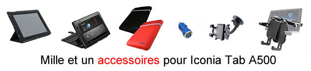 accessoires pour Acer Iconia Tab A500