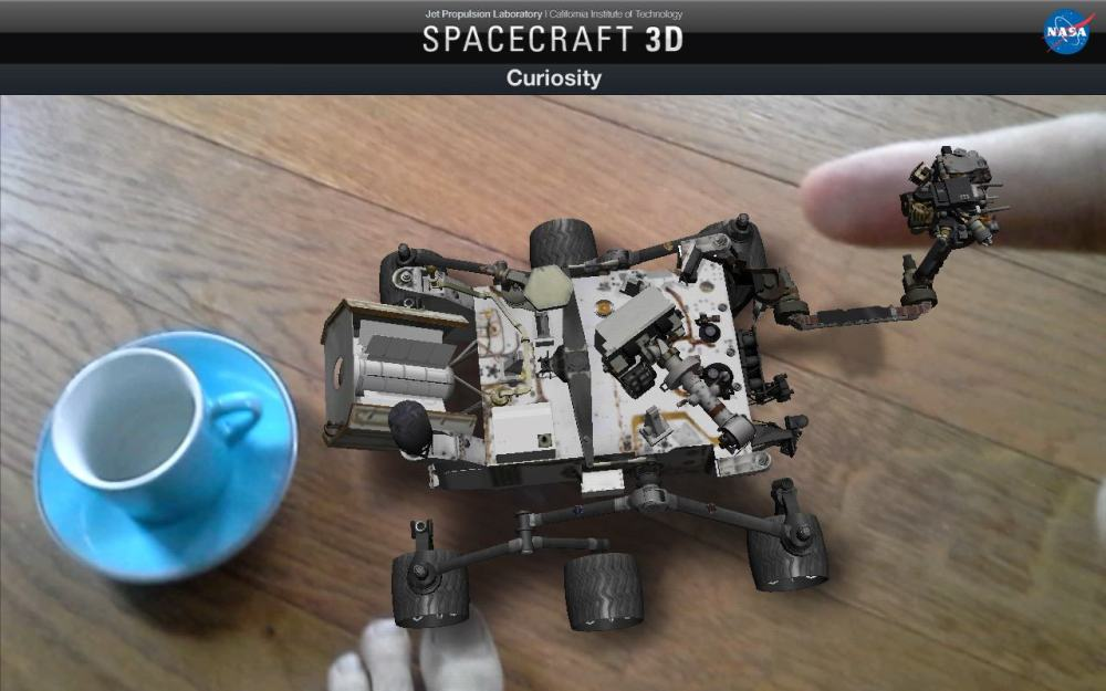 Spacecraft 3D Curiosity (1)
