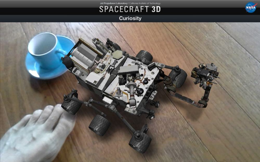 Spacecraft 3D Curiosity (2)