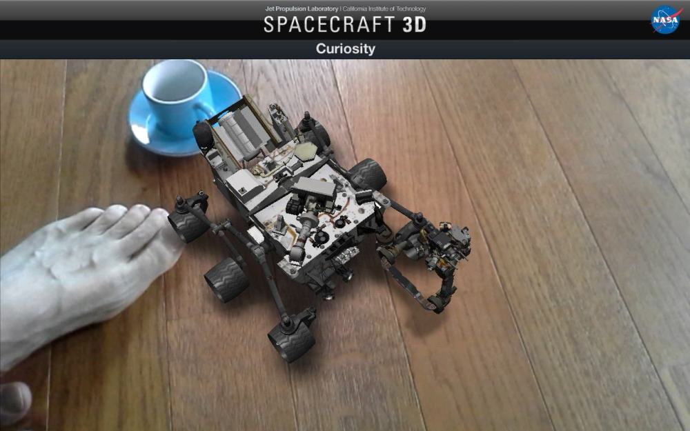 Spacecraft 3D Curiosity (3)