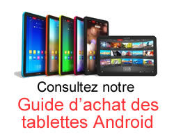 Guide Achat tablettes androides