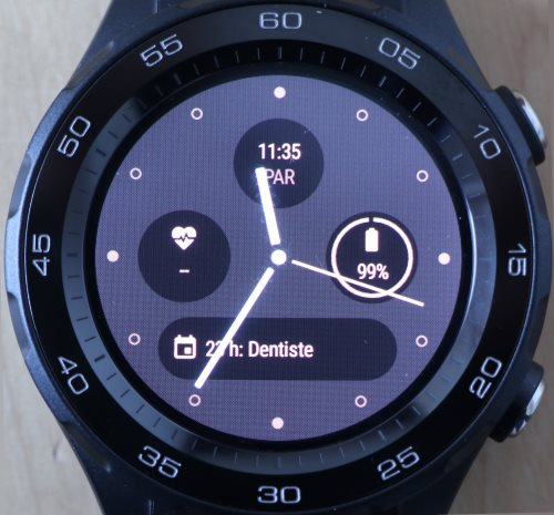 Cadran Android Wear 2.0