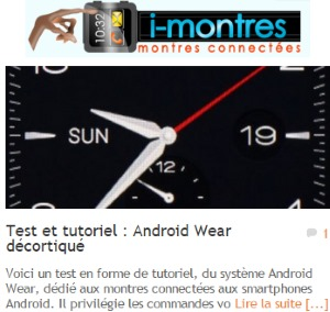 Test Android Wear