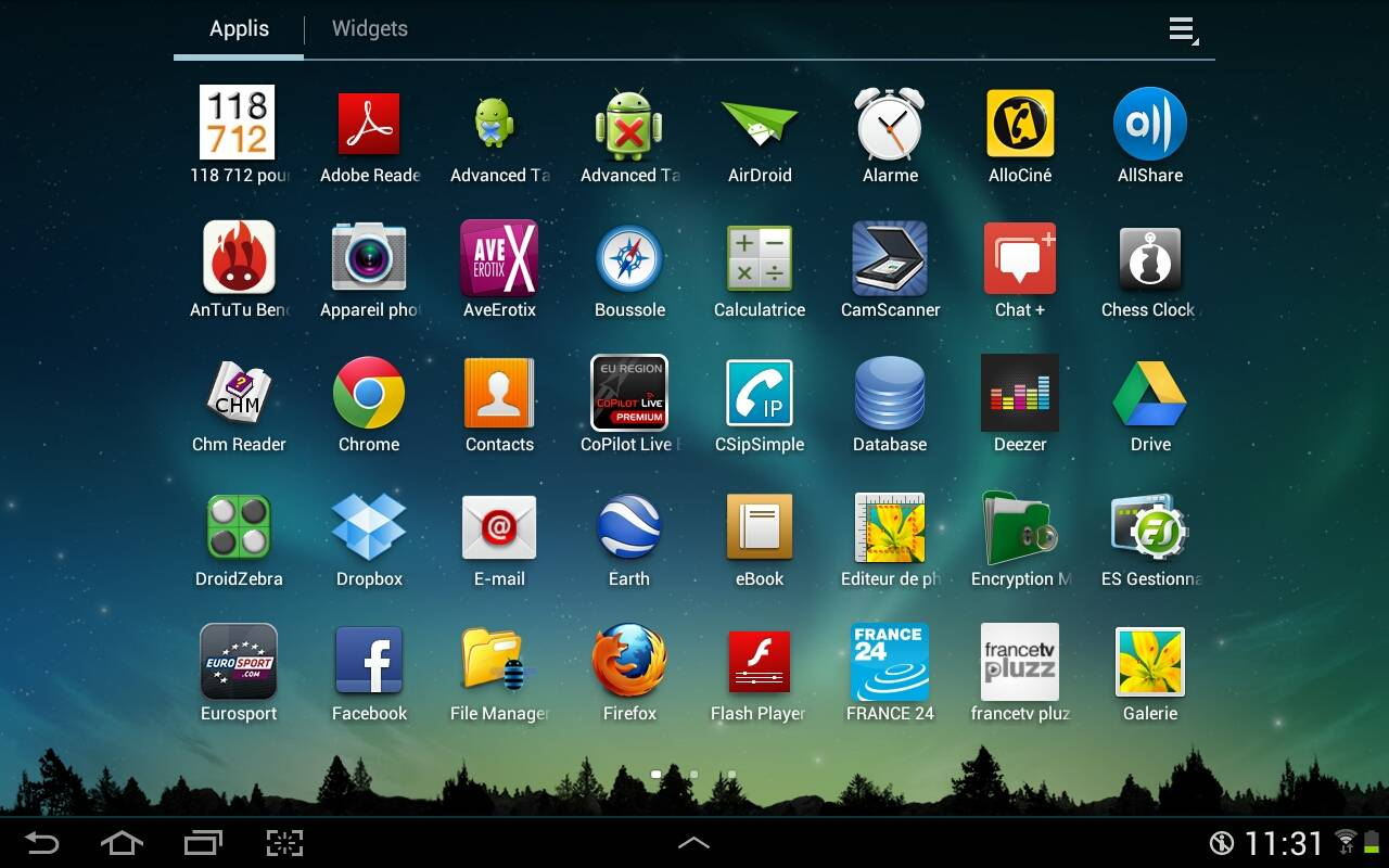 Tablette sous windows ou android le comparatif de l for Application miroir android