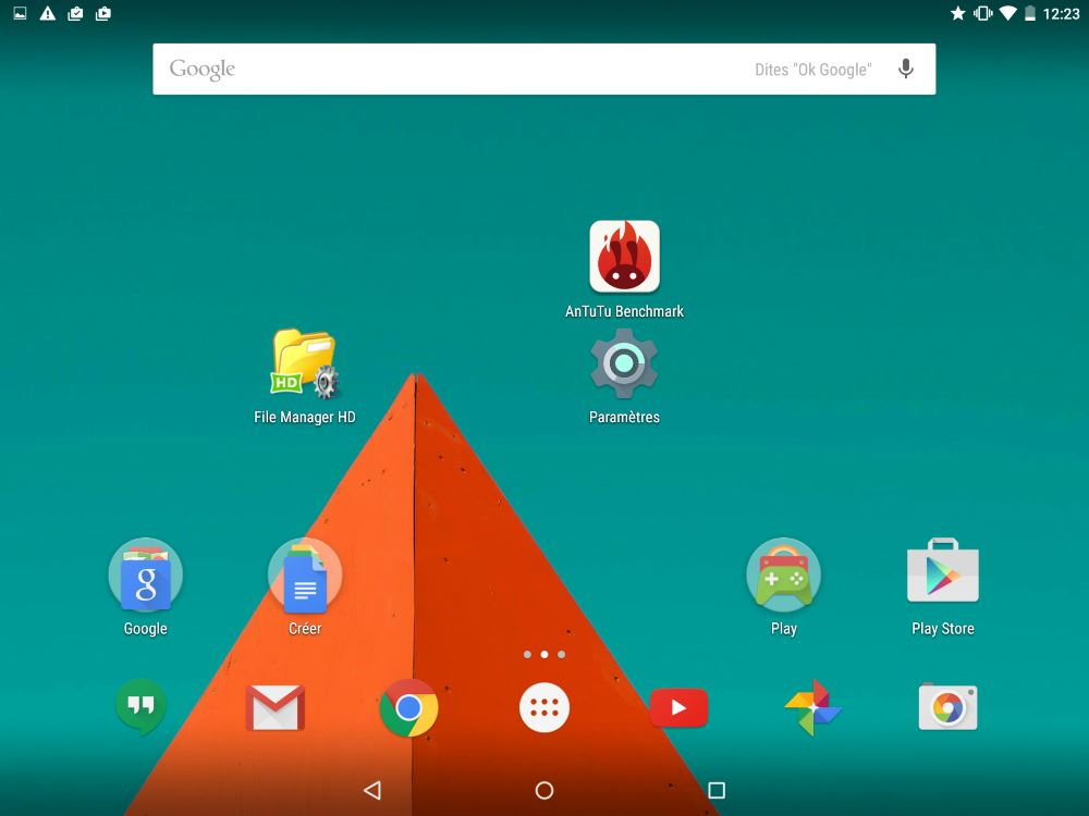Android 5 (accueil)