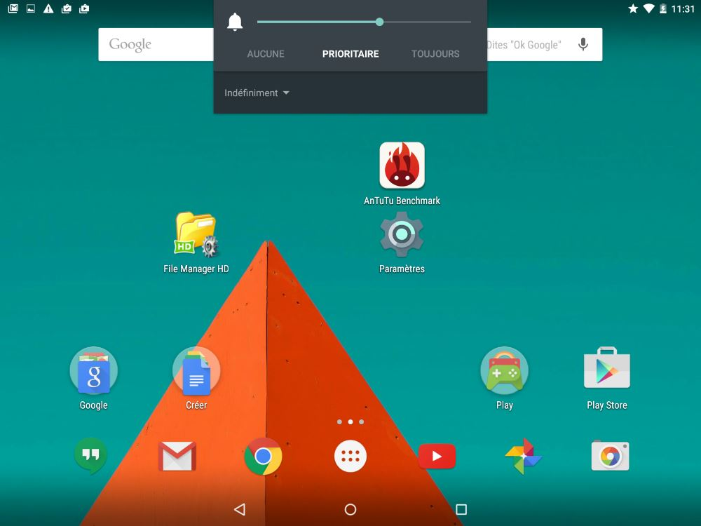 Android 5 (notifications sonores 2)