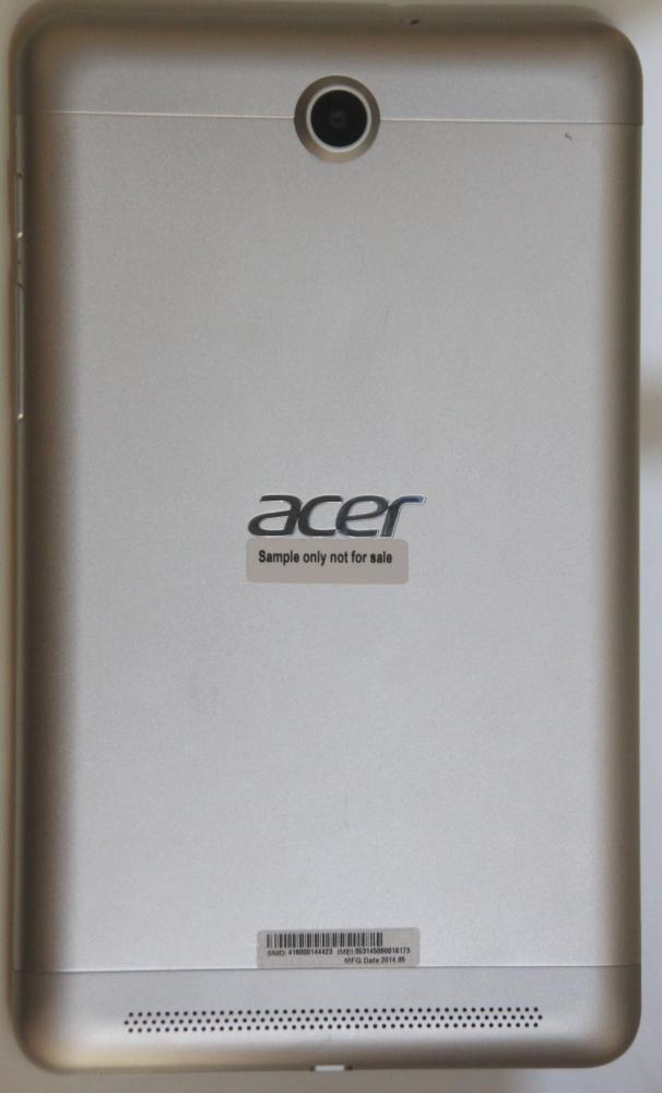 Acer Iconia Tab 7 HD  (dos)