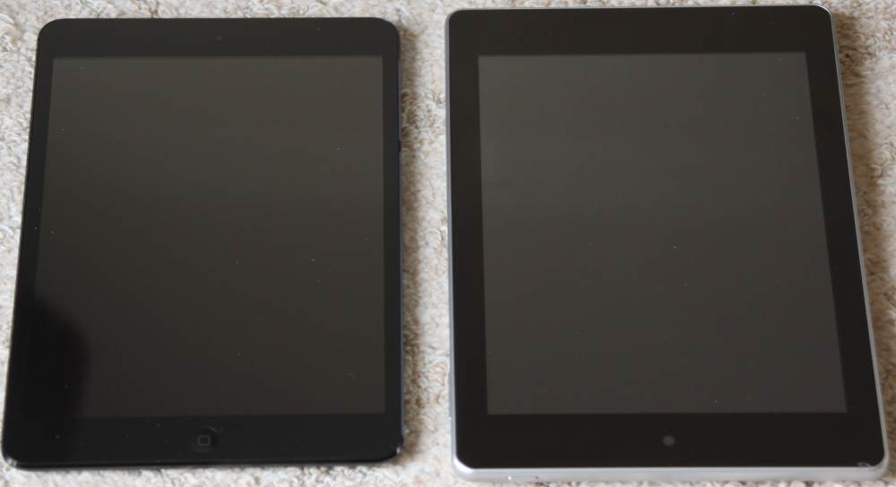 ipad mini VS Iconia A1