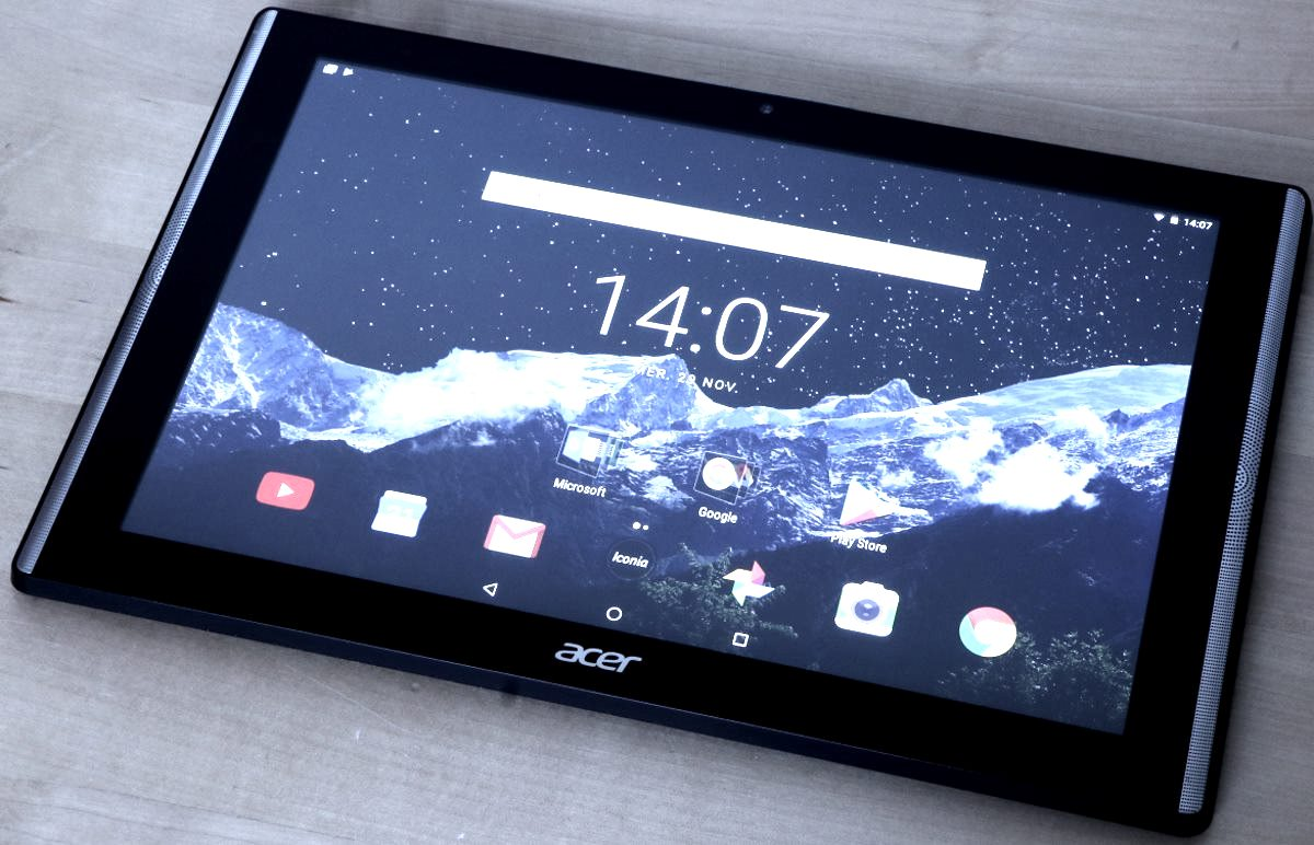 Test : l'Acer Iconia One 10 B3-A40FHD, le fullHD abordable ...