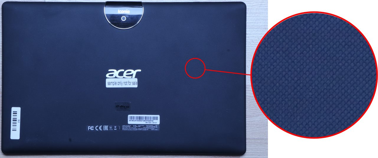 Acer Iconia Tab 10 A3-A50 (dos)