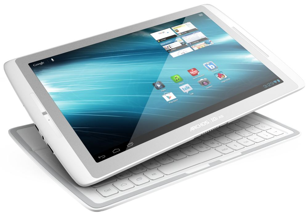 archos gen10xs une tablette avec clavier couvercle. Black Bedroom Furniture Sets. Home Design Ideas