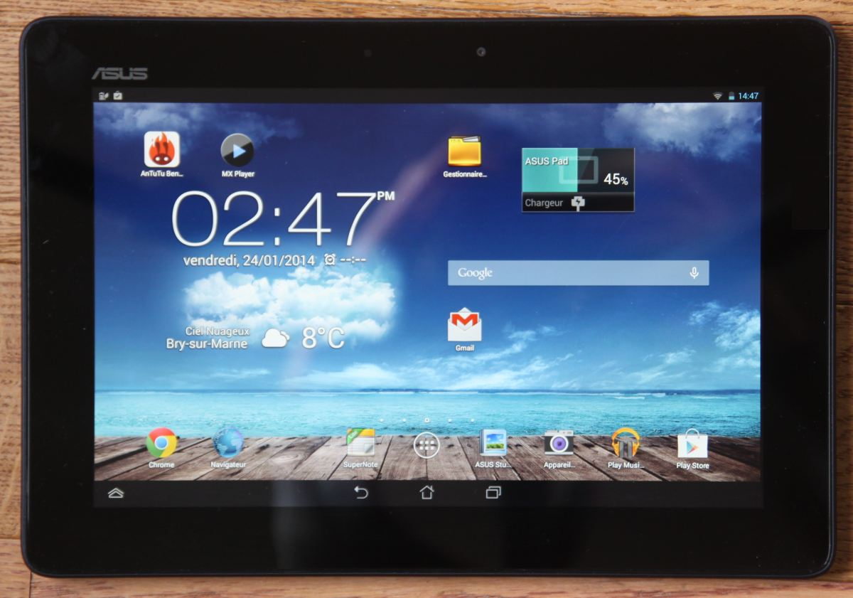 test asus memo pad fhd 10 une tablette fullhd prix. Black Bedroom Furniture Sets. Home Design Ideas