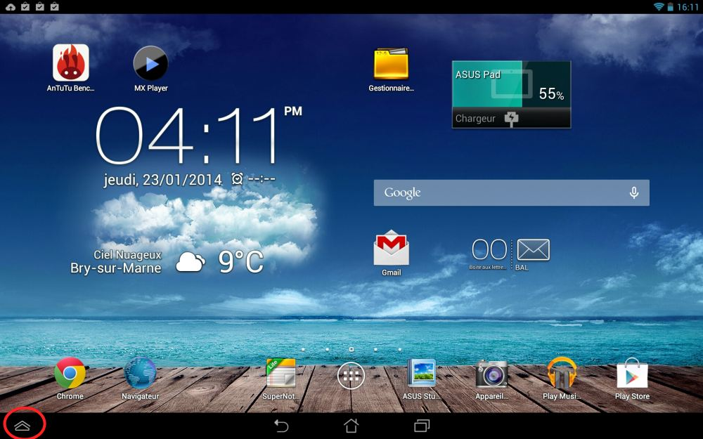 Asus Memo Pad FHD 10 (Android)