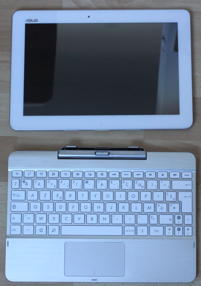 Transformer Pad TF103C (tablette et clavier)