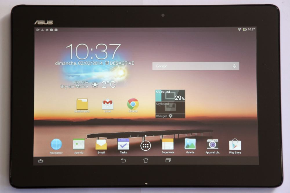 test l asus transformer pad tf701t reprend la t te des. Black Bedroom Furniture Sets. Home Design Ideas