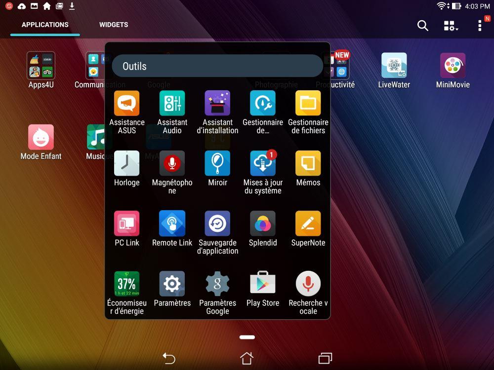 test l asus zenpad s 8 0 z580ca haut de gamme 8 pouces tablette android. Black Bedroom Furniture Sets. Home Design Ideas
