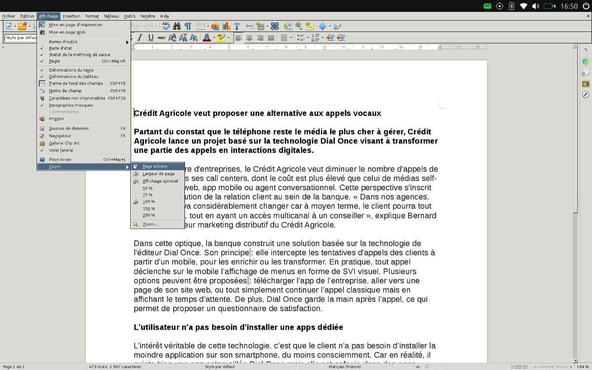 Ubuntu Touch (Libre Office)