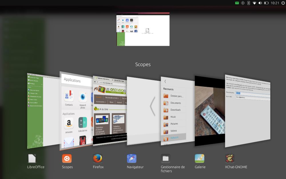 Ubuntu Touch (multitâches)
