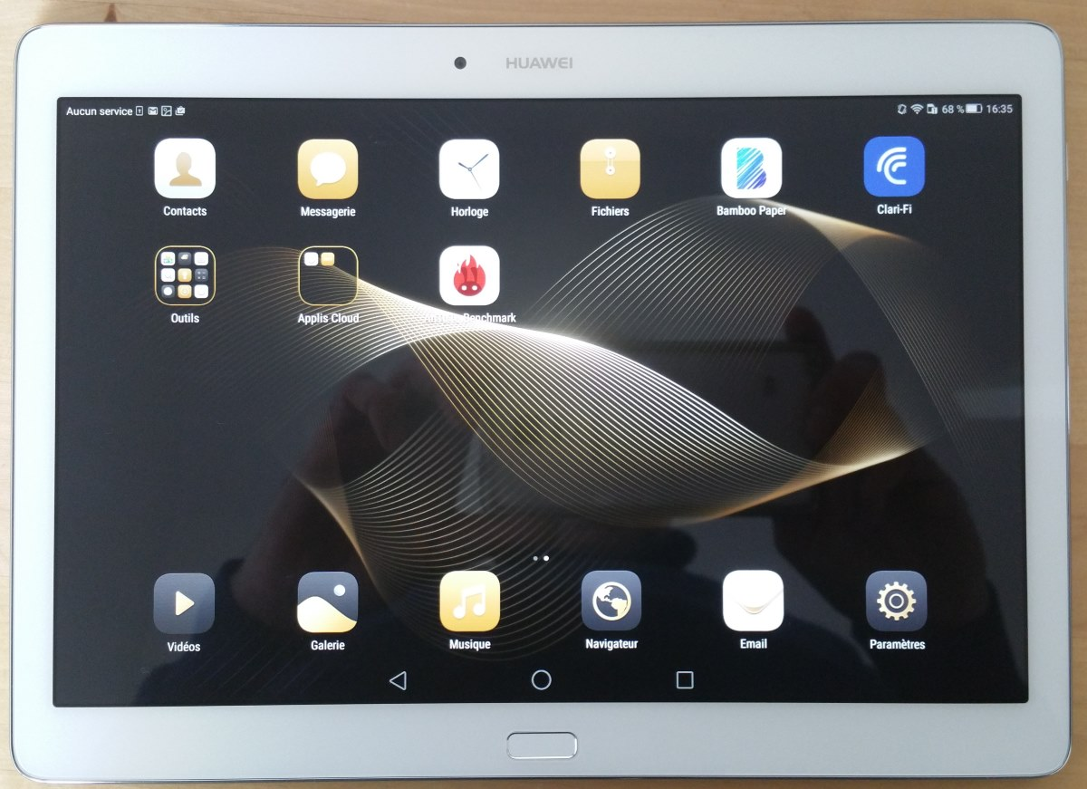 Test huawei media pad m2 10 une tablette 10 pouces qui for Photo ecran tablette samsung