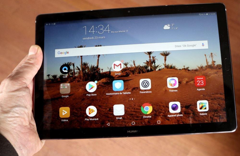 eb8ee7116a3 Une tablette lègère pour un format 10
