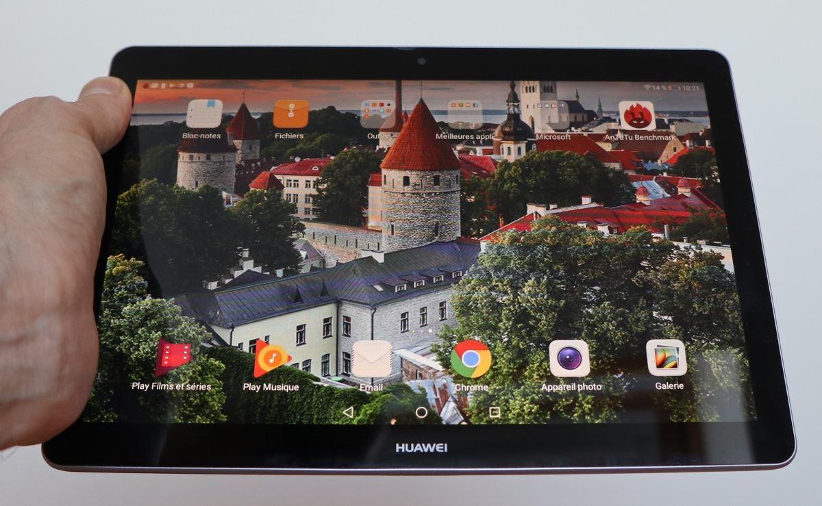 Test La Huawei Mediapad T3 10 Une Tablette Basique Sans Défaut