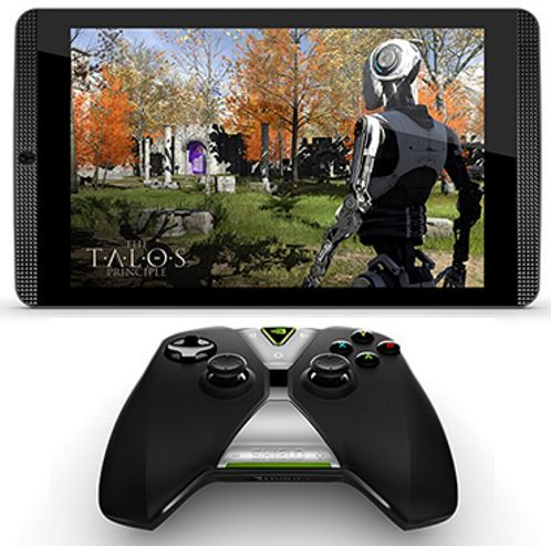 nVidia Shield Tablet et manette