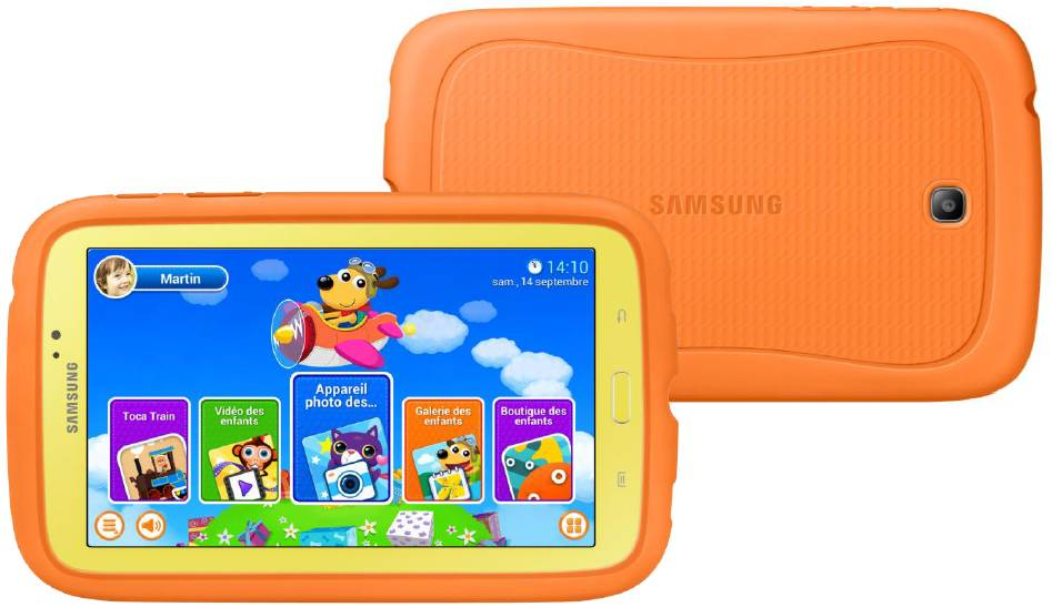 galaxy tab 3 kids une tablette android 7 pouces pour les. Black Bedroom Furniture Sets. Home Design Ideas