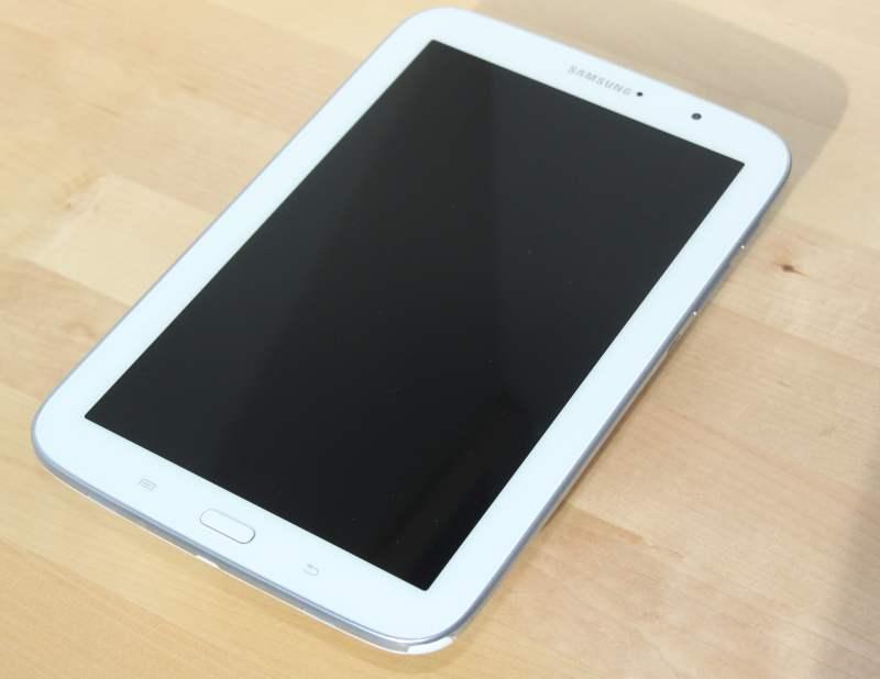 test la samsung galaxy note 8 0 une tablette haut de gamme tablette android. Black Bedroom Furniture Sets. Home Design Ideas