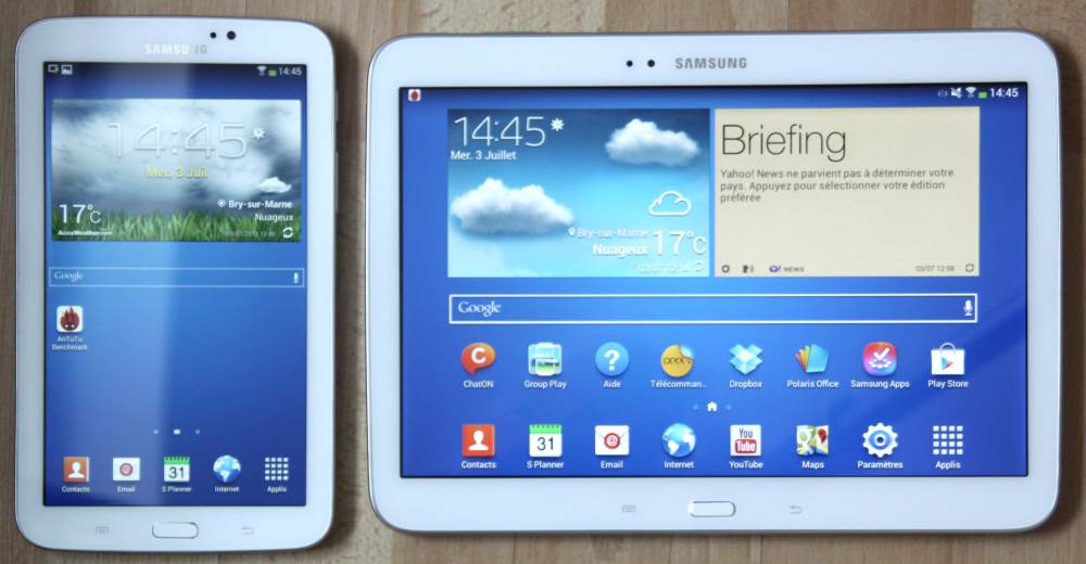 Test galaxy tab 3 7 0 une mini tablette qui fait le job for Petite tablette