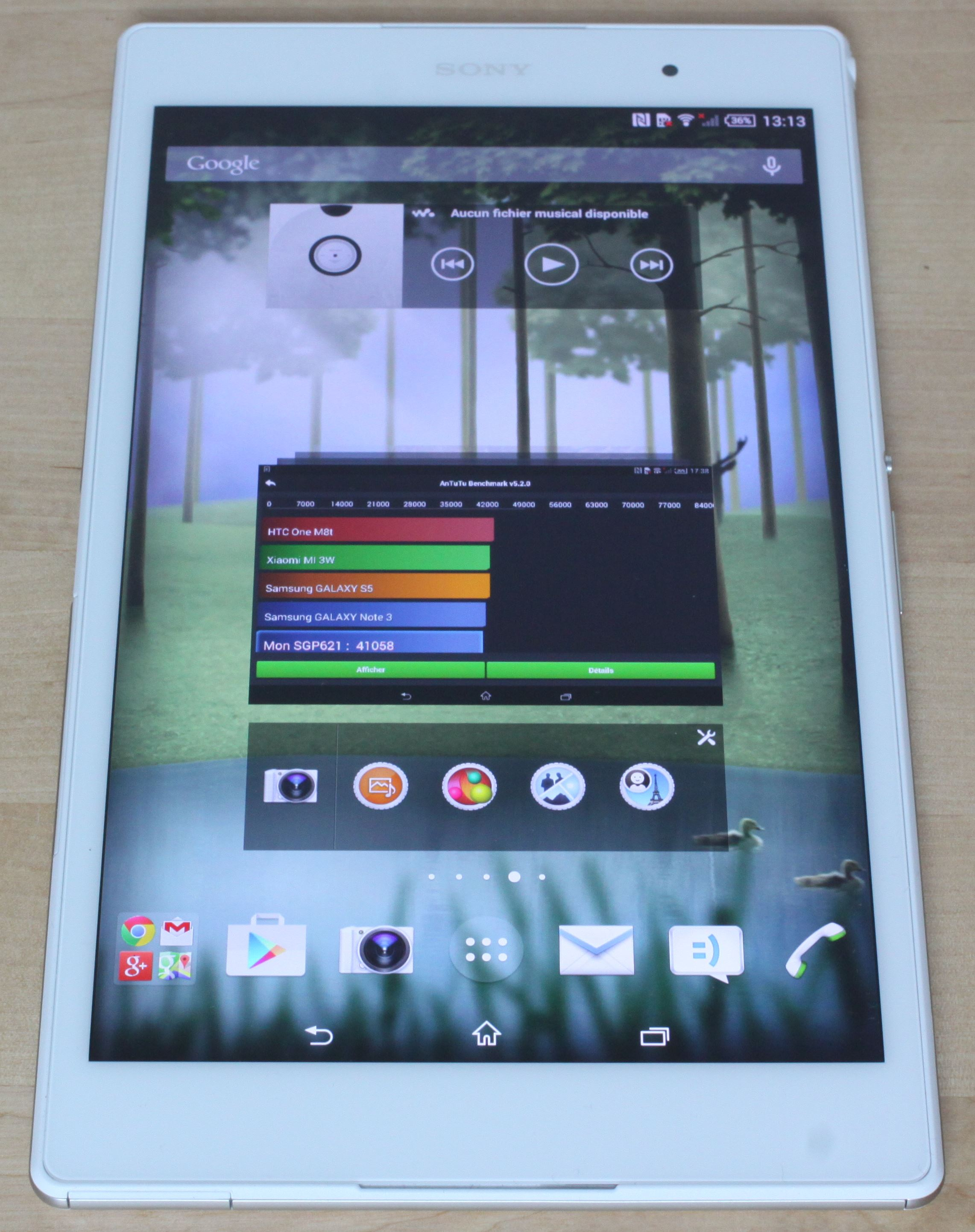Sony Z3 Tablet Compact (verticale)