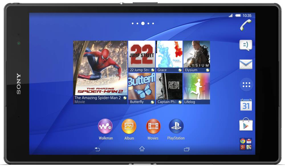 Sony Xperia Z3 Tablet Compact (noire)