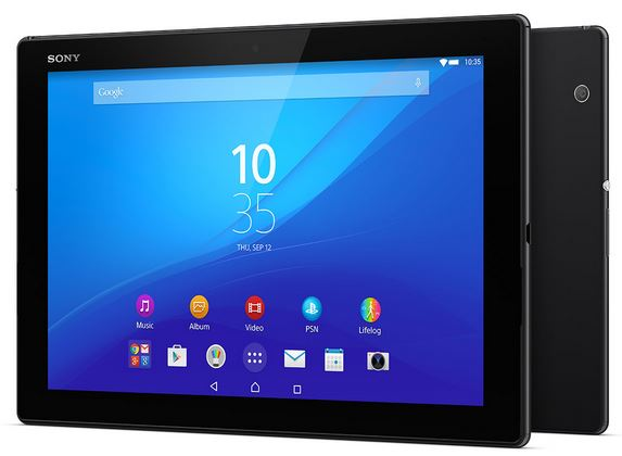 Sony Xperia Z4 Tablet (noire)
