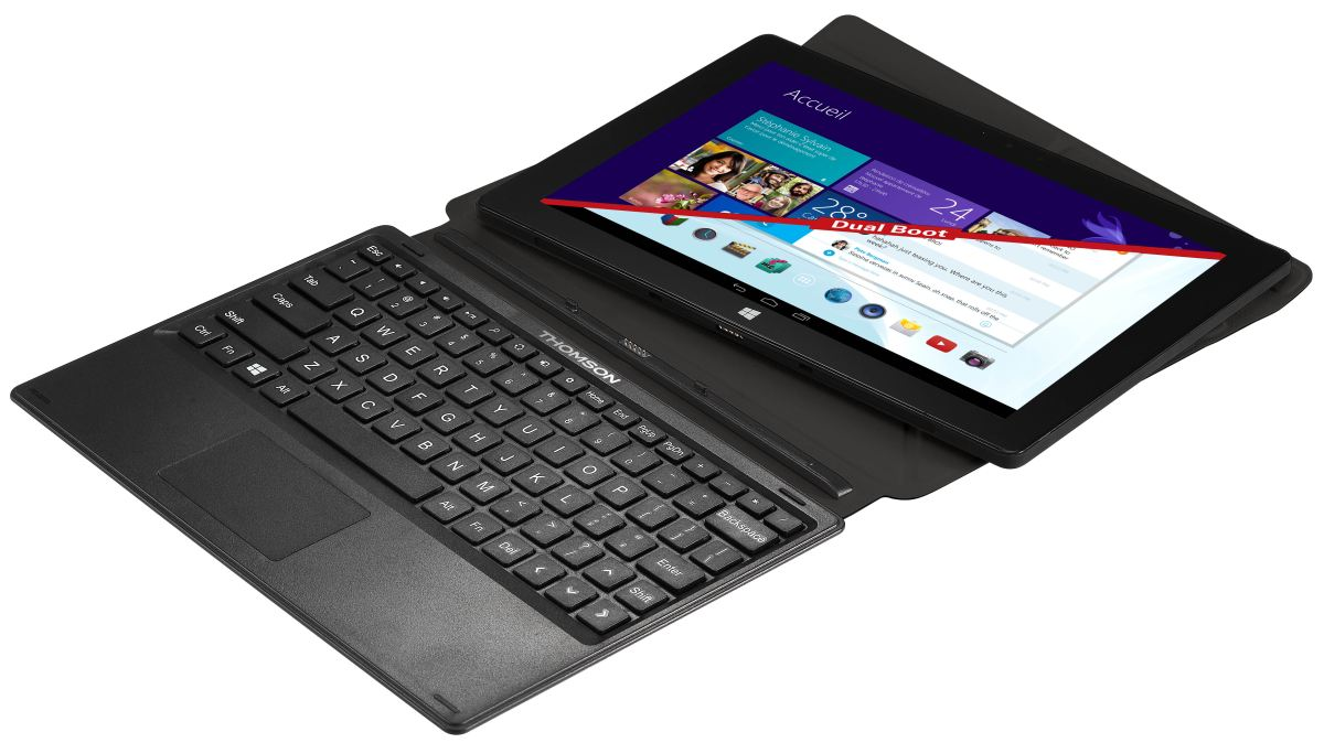 Thomson THBK1-10.32 : une tablette dual boot compatible ...
