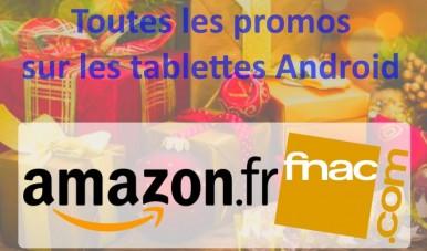 Tablettes : les promos
