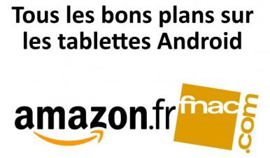 Bons plans tablettes